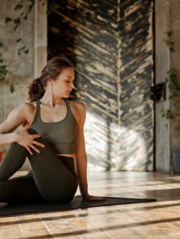 Yoga Practice for Psoas Muscle